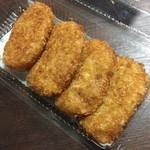 ころっけスタンド蘖庵 - みしまコロッケ(1個120円)2015年4月
