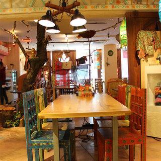 チャイを大阪に広めたカンテグランデ☆アジアンテイストな空間☆