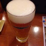 豊丸水産 徳山駅前店 - エキストラビール。ちと高い