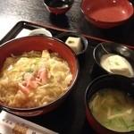 阿闍梨寮 寿庵 - 湯葉丼