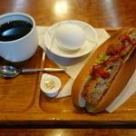 KOTOBUKI - 料理写真:2015.04 イニシエ系なので期待していなかったら豪華なモーニング(追加なし、コーヒー380円)