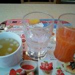 ガスト - フリードリンクとスープ