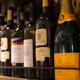 気軽にワインを!ボトル2090円~