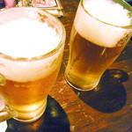 極たん牛政宗 - 昼飲み生ビール¥290