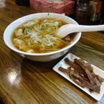 郁 - 同行者のワンタンスープ定食 ※これにご飯が付きます