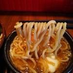 36676690 - スープに良く絡む太麺~♪(^o^)丿