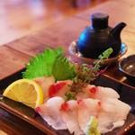 ムルク - 料理写真:マクブ(シロクラベラ)刺身