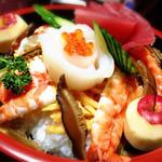 三河鮨 - 即席、お誕生日寿司。