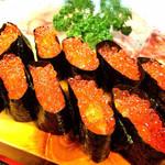 三河鮨 - いくら