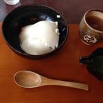 五龍閣 - お豆腐スイーツ ビフォー