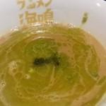 ラーメン海鳴 - つけ麺 バジルとチーズのイタリアンやオイル☆アップ
