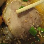 天心軒 - 『天心軒』 冷麺のチャーシュー
