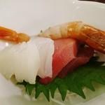 ホテル瑞鳳 - 夕食ビュッフェのお刺身
