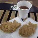 円山たいやき - たい焼きとお茶