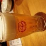 弐ノ弐 - オリオン生ビールで乾杯(380円)
