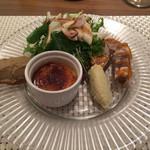 ラディーチェ - 前菜5種盛り