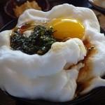 白卵懐 - 韮しょうゆ