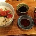 36681936 - あずま丼(マグロ丼)