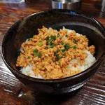 担々麺 梟 - 肉味噌丼