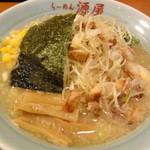 源屋ラーメン - 塩ネギチャーシュー麺