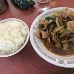銀座亭 - 焼肉定食