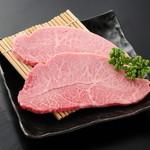 炭火焼肉 まるじゅう - 佐賀牛みすじ 850円~