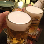 サバイクラパオ - ビールおいしい!