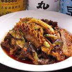中華料理 菜香菜 - 牛ハチノスと牛肉のピリ辛和え