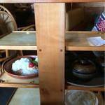 びっくりドンキー 盛岡インター店 - お料理が運ばれてきました〜 のトレイ