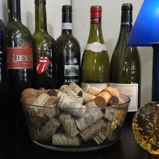 ワイン、カクテル、その他ドリンクも多数ご用意!