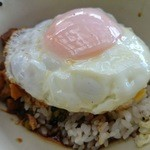 36688029 - ルーロファン(台湾式豚バラ煮込み丼)