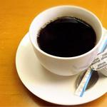 銀山茶屋 - ランチ食後のコーヒー