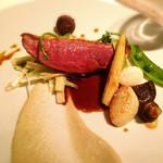 ツキ シュール ラメール - シャラン産鴨胸肉