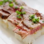 はな阿蘇美レストラン - 料理写真:あか牛あぶり寿司