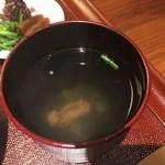 東京竹葉亭 - 肝吸いUP♪