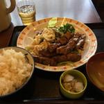 36698976 - トンテキ定食