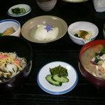 深草園 - 料理写真:だご汁定食 1000円