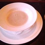 ア・ヴォートル・サンテ - ランチMenuBより新牛蒡のスープ