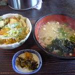 うどんの紀元 - 【天丼セット 750円】