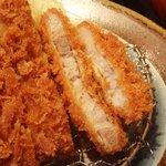 かつふじ - 島根豚ロースカツ定食 1,000円