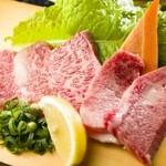 秀吉 - 料理写真:岡山県産・宮崎県産など全国から仕入れている『特上カルビ』