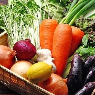 【野菜へのこだわり!!!】
