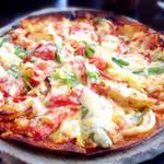 アンジュール - 料理写真:季節のピザ