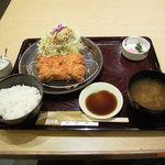 TONKATSU WAKO - 料理写真:とんかつ御膳