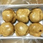 勝月堂 - 個別に包装してない手作り感タップリの饅頭