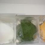 36706329 - いちご大福、よもぎ餅、蕨餅