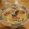 シフォン - 料理写真:ベーコン&しめじクリームスパゲッティ