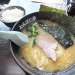 とんぱた亭 - 醤油ラーメン650円+ライス小100円
