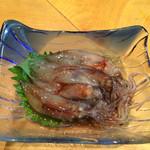 きこ - ホタルイカの刺身 こんなレアにめぐり逢えるのが、この店の良さ(笑)