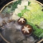 薫風 - クエ鍋